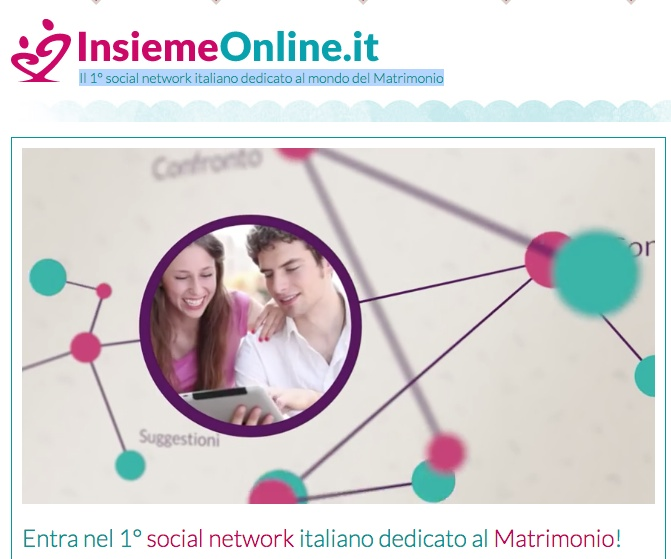 mister wedding collabora con portale insiemeonline